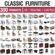 Classic Furniture Full Set - 300 Products