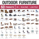 Outdoor Furniture Collection - 60 Products