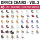 Office Chairs Collection Vol 3 - 50 Products