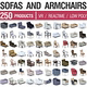 Sofa and Armchairs - 250 Products