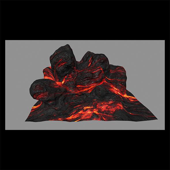 Lava_Rock - 3DOcean Item for Sale