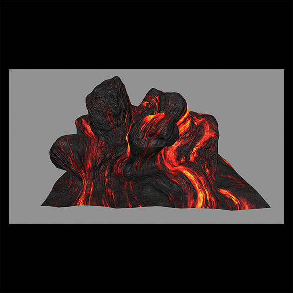 Lava_Rock - 3DOcean Item for Sale