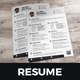 Resume & Cover Letter Design v8 - GraphicRiver Item for Sale