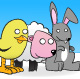 Easter Animals - GraphicRiver Item for Sale