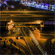 Overbridge traffic trails - VideoHive Item for Sale