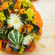 bouquet of pumpkins, flowers and leaves - PhotoDune Item for Sale