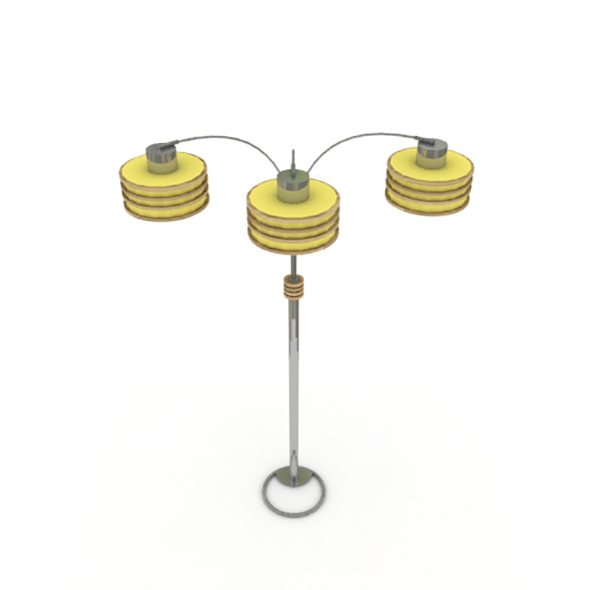 Tall living room lamps - 3DOcean Item for Sale