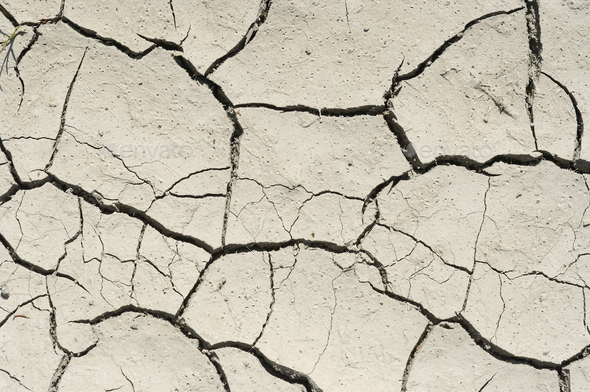 Cracked dried ground - Stock Photo - Images