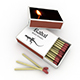 Wooden Safety Matches - 3DOcean Item for Sale
