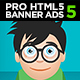 Professional HTML5 Banner Ads 5 |  Animate CC - CodeCanyon Item for Sale