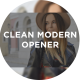 Clean Modern Opener - VideoHive Item for Sale