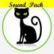 Cartoon Cat Meow Pack