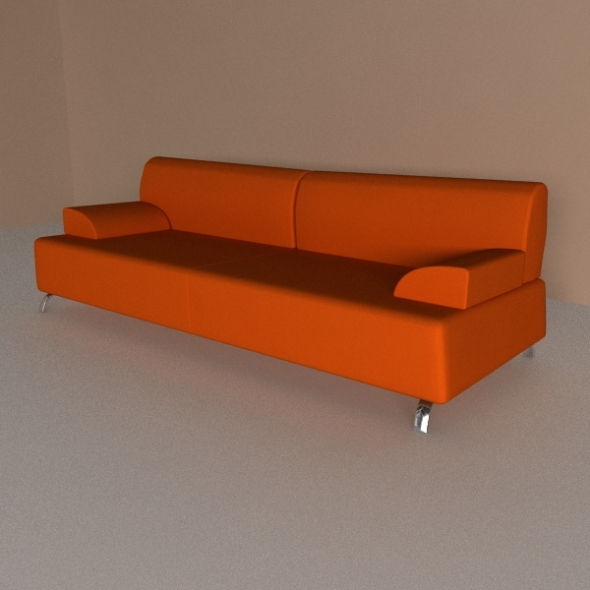 Calligaris Sofa Openspace - 3DOcean Item for Sale