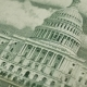 Fifty Dollars and Building United States Capitol - VideoHive Item for Sale