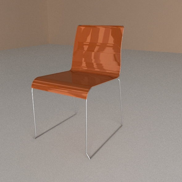 Calligaris Chair Irony - 3DOcean Item for Sale