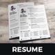 Resume & Cover Letter Design v9 - GraphicRiver Item for Sale