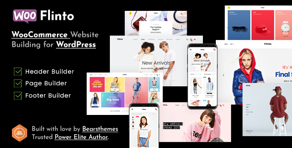flinto – modern and minimal ecommerce wordpress theme (woocommerce) Flinto – Modern and Minimal eCommerce WordPress Theme (WooCommerce) 00 Preview