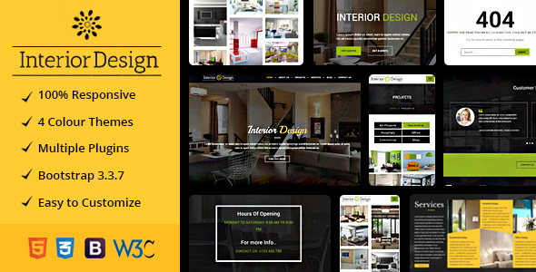 Image of Studio Ux | Interior Design Website Mulitpurpose HTML5 Template