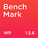 Benchmark - Responsive Multipurpose One Page Landing Page WordPress Theme - ThemeForest Item for Sale