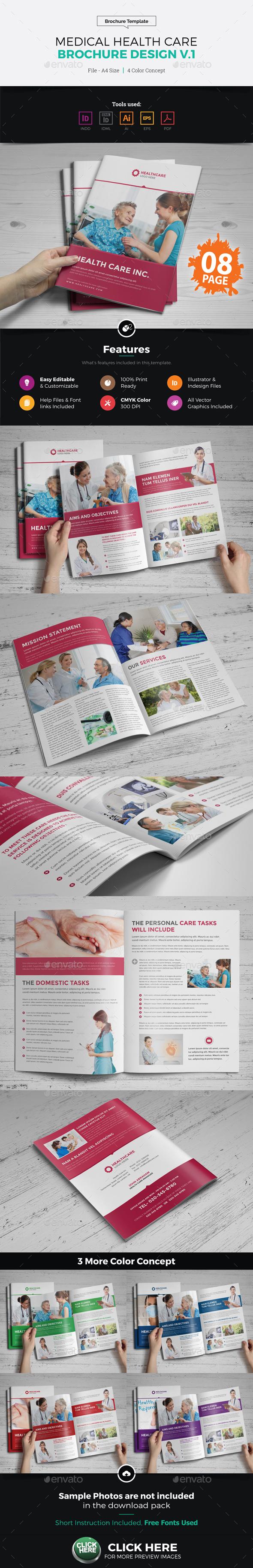 Medical Health Care Brochure Design v1 - Corporate Brochures