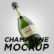 Champagne Bottle Mockup - GraphicRiver Item for Sale