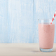 Fresh strawberry smoothie in glass - PhotoDune Item for Sale