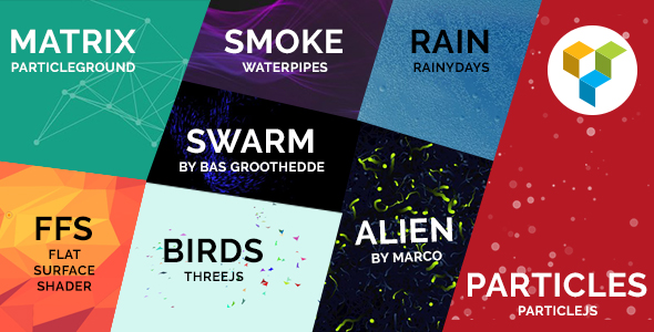 Particle Backgrounds for WPBakery Page Builder (formerly Visual Composer) - CodeCanyon Item for Sale