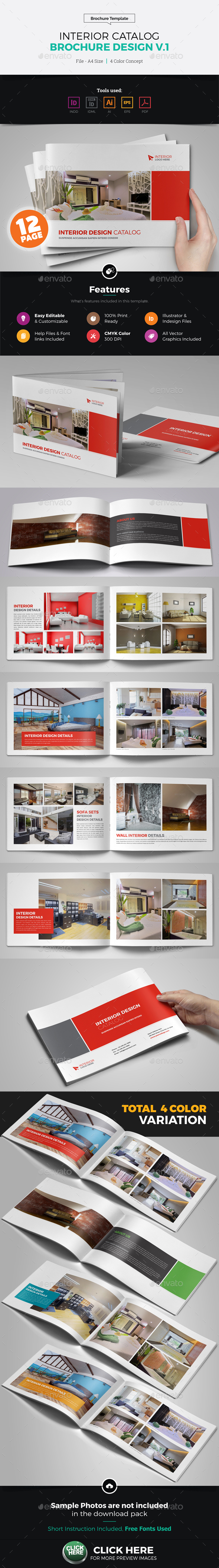 Interior Brochure Catalog Design v1 - Corporate Brochures
