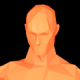 Dancing Orange Humanoid - VideoHive Item for Sale