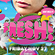 Fresh Flyer Template - GraphicRiver Item for Sale