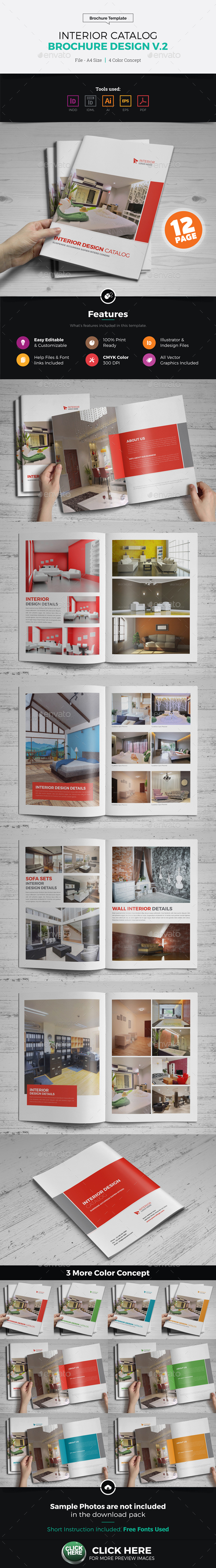 Interior Brochure Catalog Design v2 - Corporate Brochures