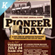Pioneer Day Flyer Templates - GraphicRiver Item for Sale