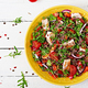 Salad bowl lunch with grilled chicken and quinoa, tomato, sweet peppers - PhotoDune Item for Sale