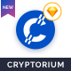 Cryptorium - ICO & Cryptocurrency Sketch Template - ThemeForest Item for Sale