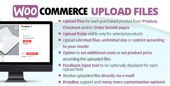 WooCommerce Upload Files - CodeCanyon Item for Sale