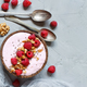 Raspberries smoothie bowls - PhotoDune Item for Sale