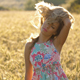 Beautiful Woman in Field of Wheat - VideoHive Item for Sale