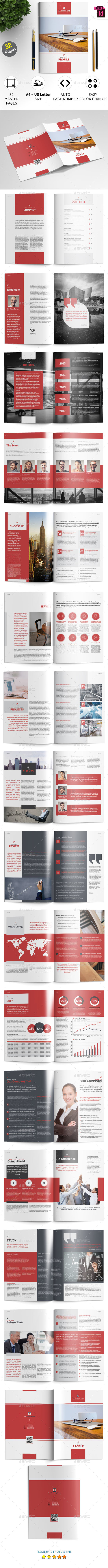 Company Profile Template - Corporate Brochures