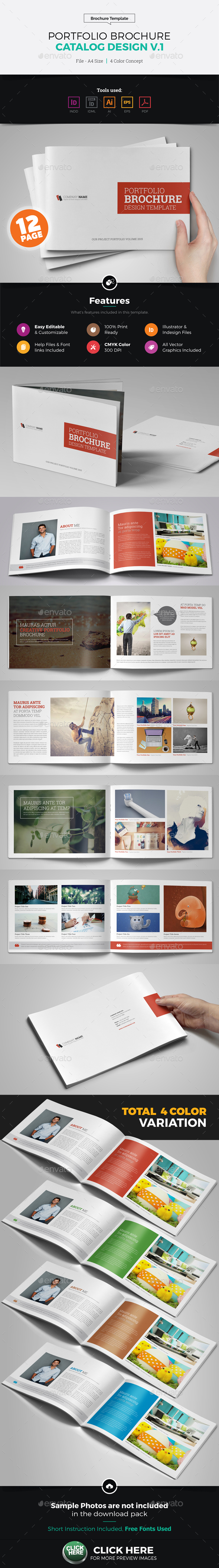 Portfolio Brochure Catalog Design v1 - Corporate Brochures