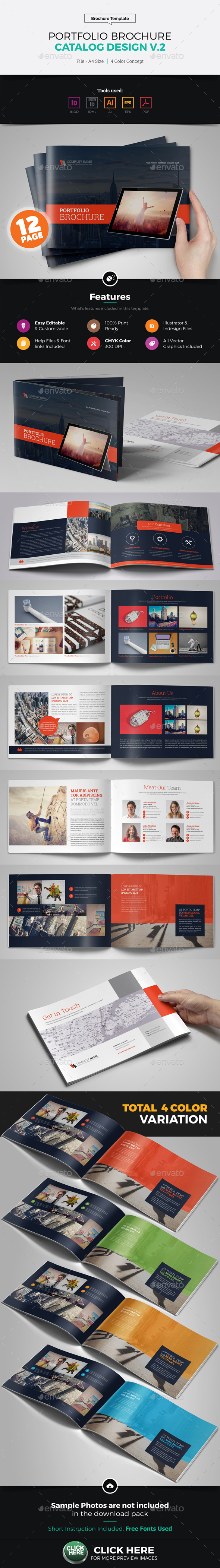 Portfolio Brochure Catalog Design v2 - Corporate Brochures