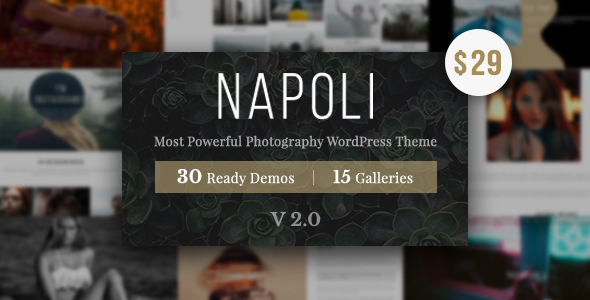 Photography Napoli | Photography WordPress for photography - Photography Creative