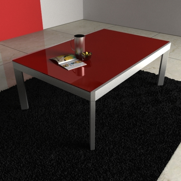Calligaris Table Elasto - 3DOcean Item for Sale