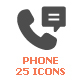 Phone & Calling Filled Icon - GraphicRiver Item for Sale