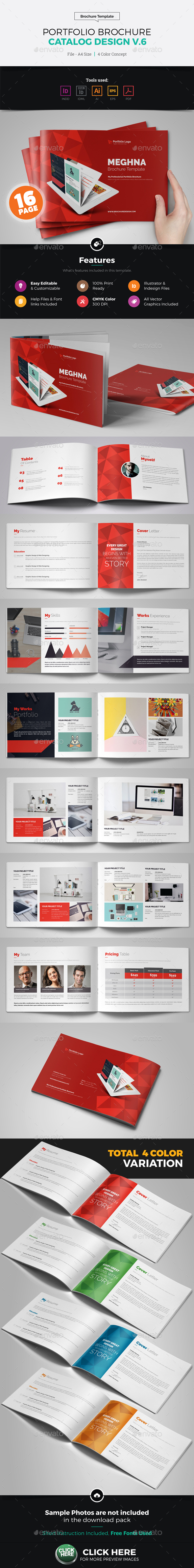 Portfolio Brochure Catalog Design v6 - Corporate Brochures