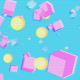 Abstract Pop Geometric Background - VideoHive Item for Sale