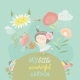 Pretty Girl Watering Flower - GraphicRiver Item for Sale