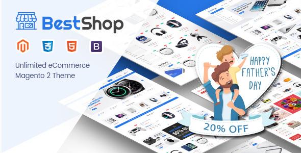 BestShop - Responsive Digital Magento 2 Store Theme - Shopping Magento