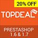 TopDeal - Multipurpose Responsive PrestaShop 1.6 & 1.7 Theme - ThemeForest Item for Sale