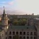 Flight of the Drone Over the Roofs of the Old City - VideoHive Item for Sale