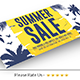 Summer Sale Facebook Cover - GraphicRiver Item for Sale